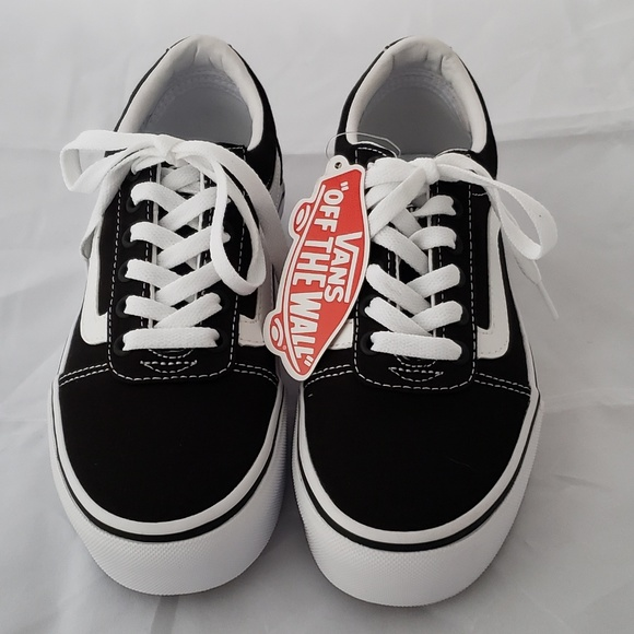 b84159c92007d0 Canvas Vans Ward ShoesOld Platform New Skool Sneakers Poshmark UMqSpzVG